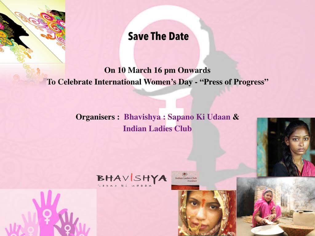 """International Women's Day - """"Press for Progre"""