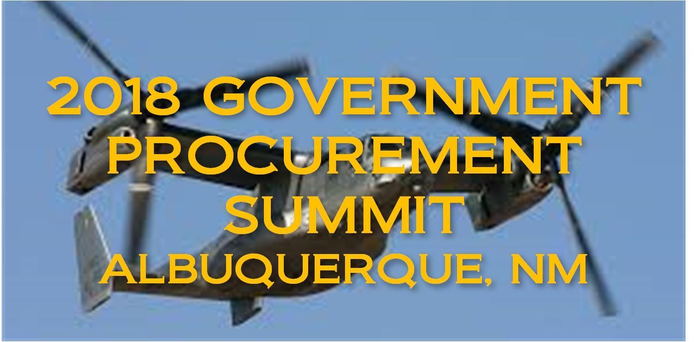 2018 ALBUQUERQUE, NM GOVERNMENT PROCUREMENT SUMMIT
