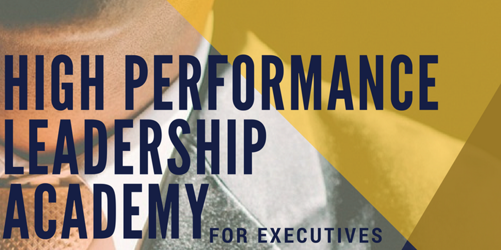 high performance leadership This program teaches you to lead in ways that unleash the motivation, goodwill and collective intelligence of employees.
