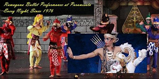 Ramayana Ballet Performance at Purawisata, Every Night, Since 1976