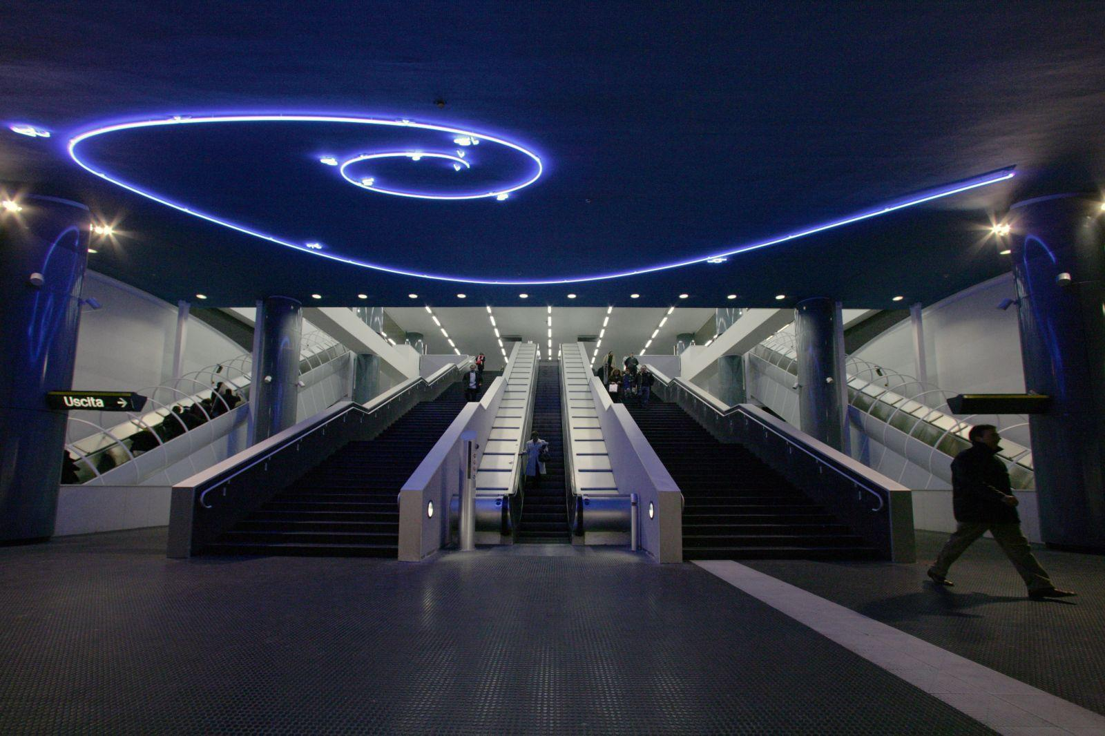 Image result for napoli metro dante