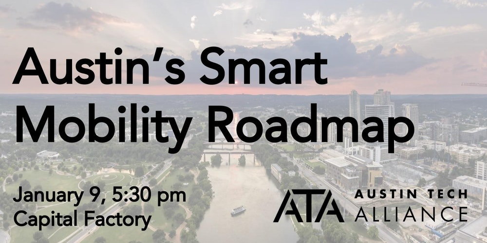 Austins smart mobility roadmap tickets tue jan 9 2018 at 530 austins smart mobility roadmap tickets tue jan 9 2018 at 530 pm eventbrite malvernweather Image collections