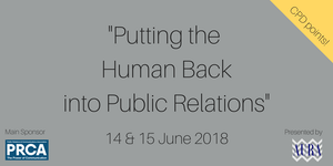 #PRFest - Putting the Human Back into Public Relations