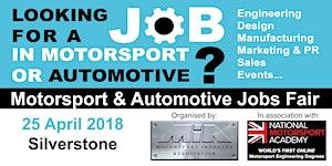 MIA Motorsport & Automotive Jobs Fair in assoc with...