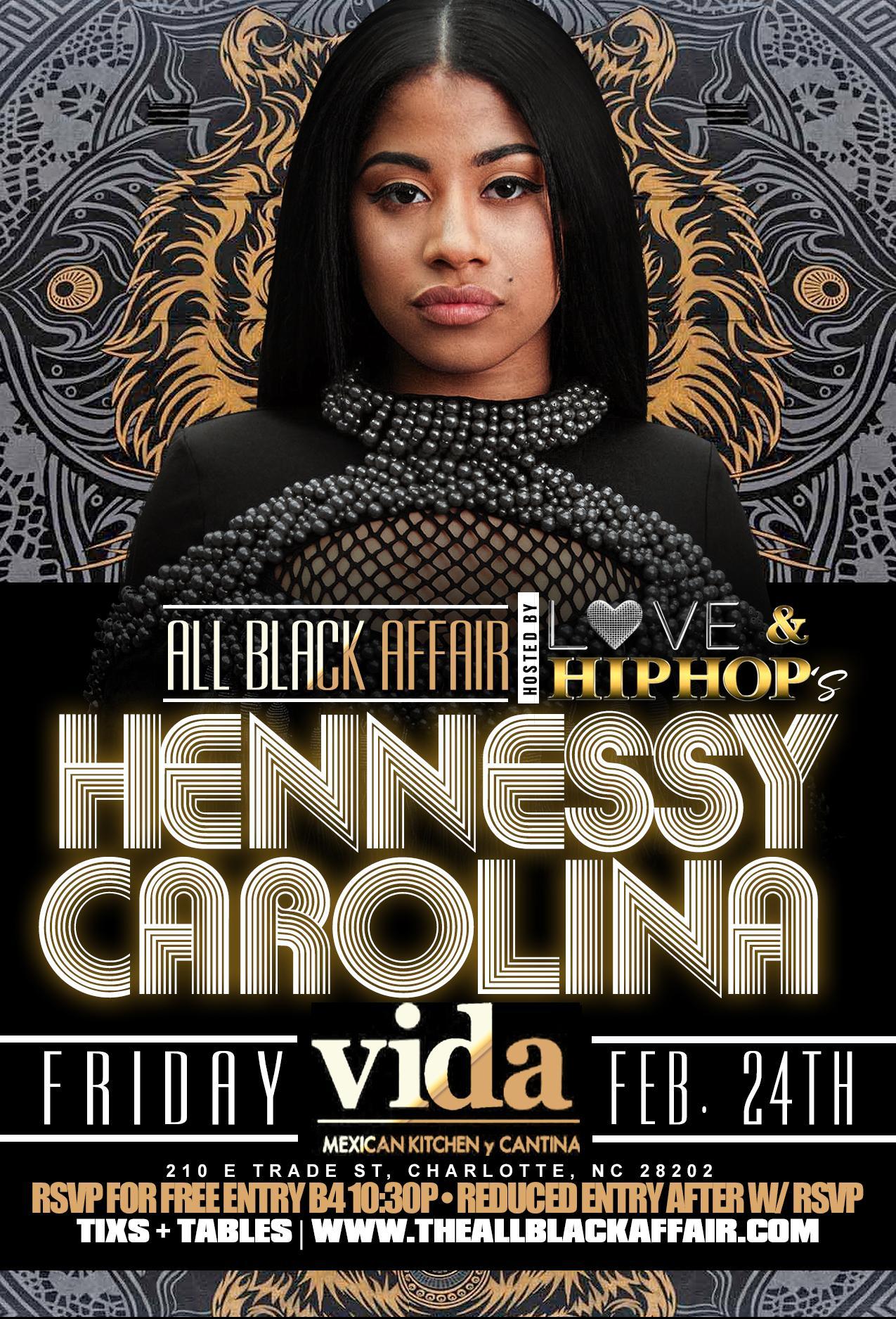 the 8th annual all black affair hosted by hennessy carolina vida