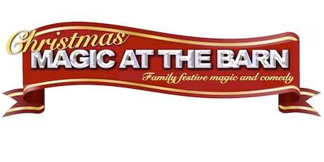Christmas Magic at the Barn tickets