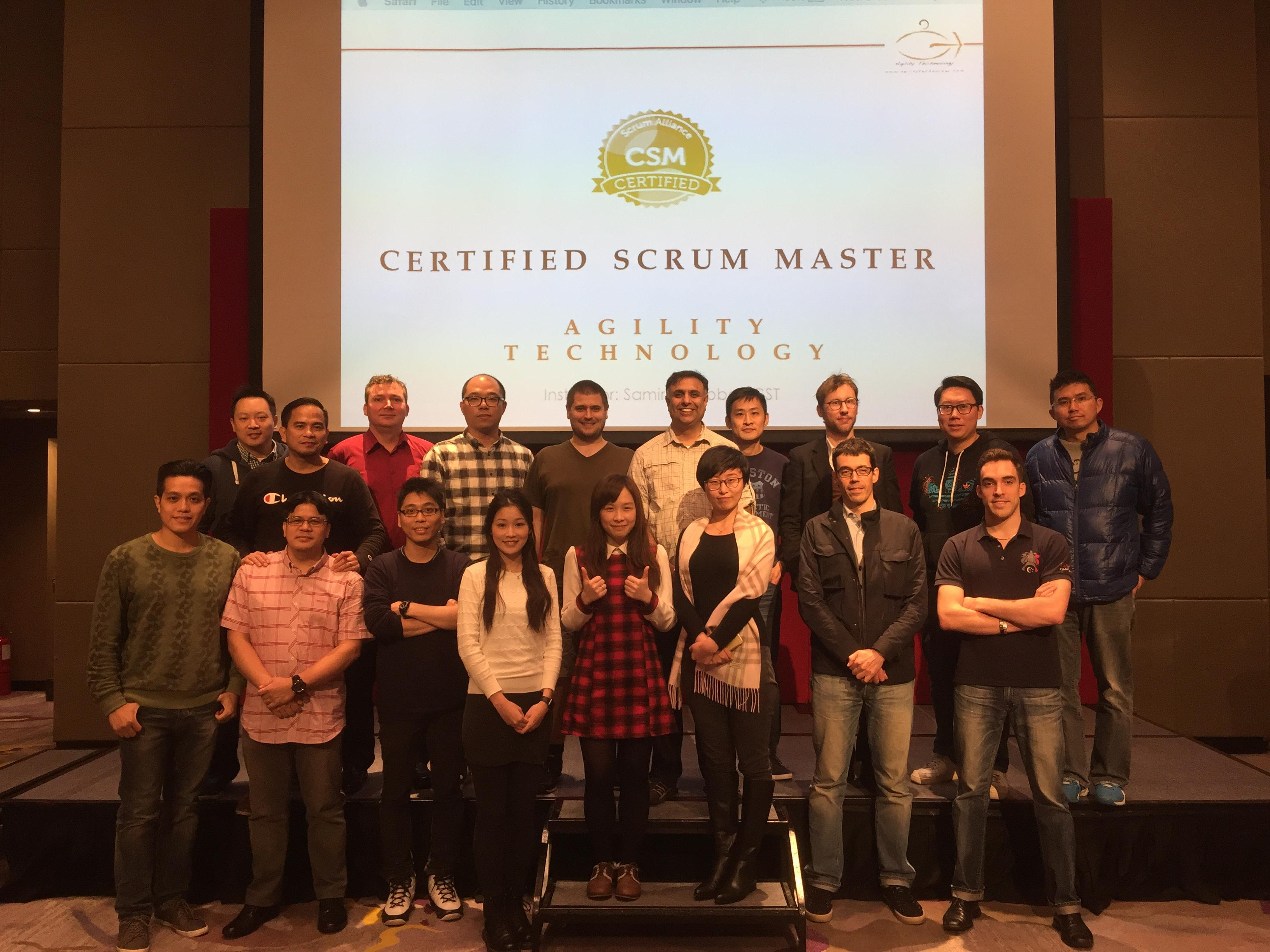 Certified Scrum Master Training in Washington