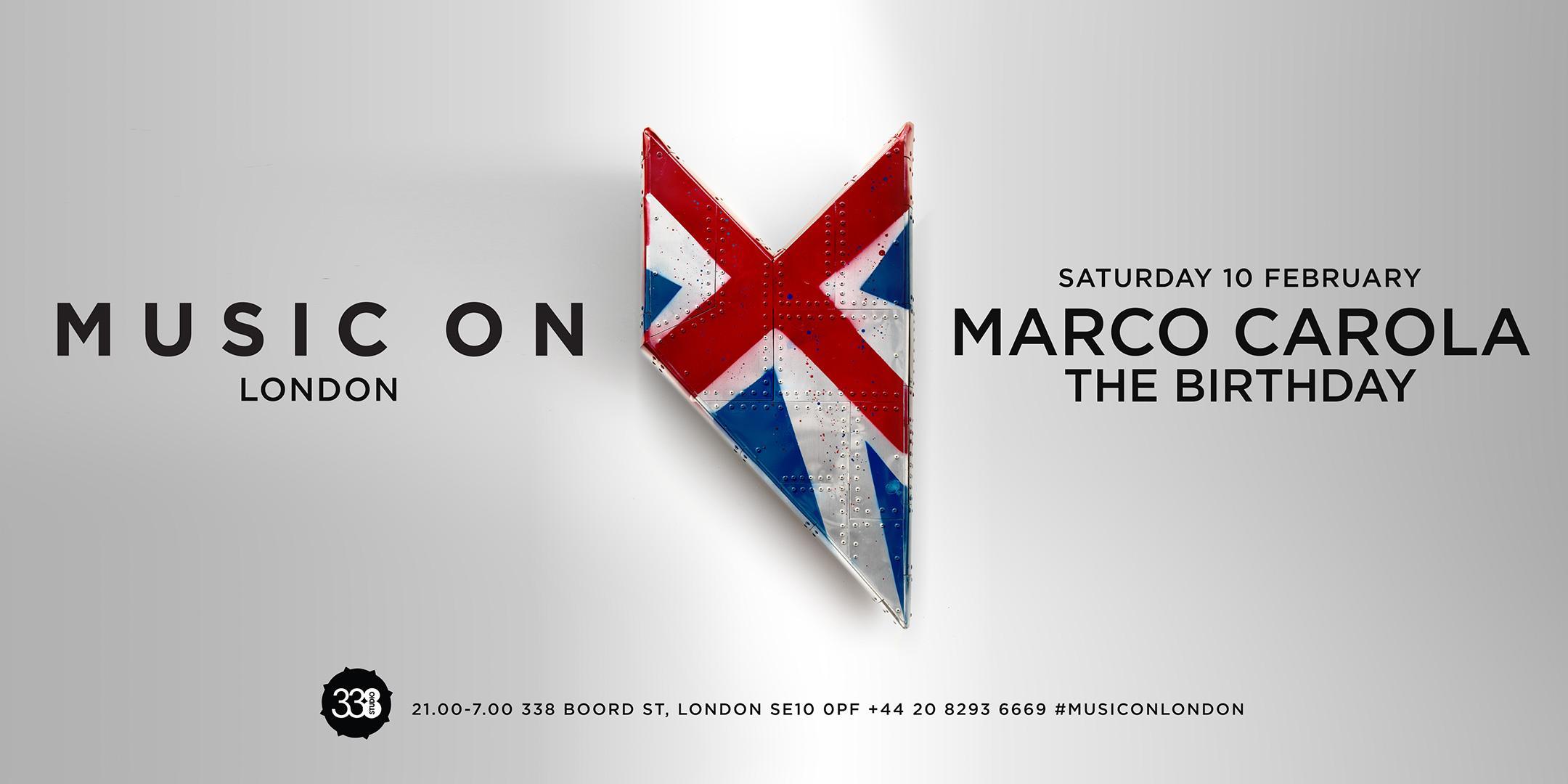 Music On London 2018-10th February