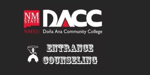 DACC Gadsden Center: In-Person Entrance Counseling