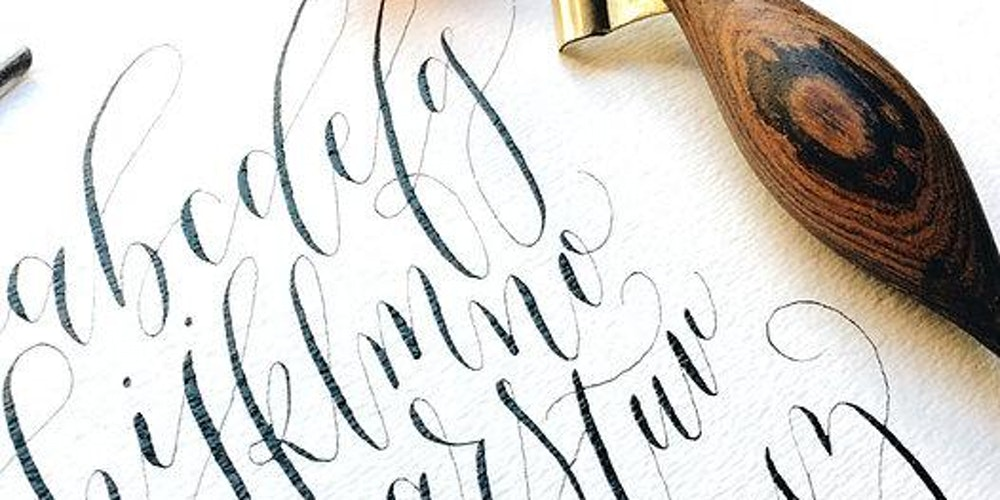 Part 1 Get Started With Pointed Pen Calligraphy San