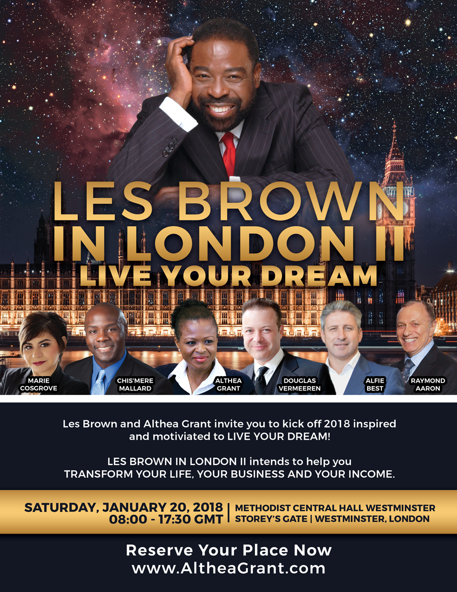 Les Brown in London II - Live Your Dream