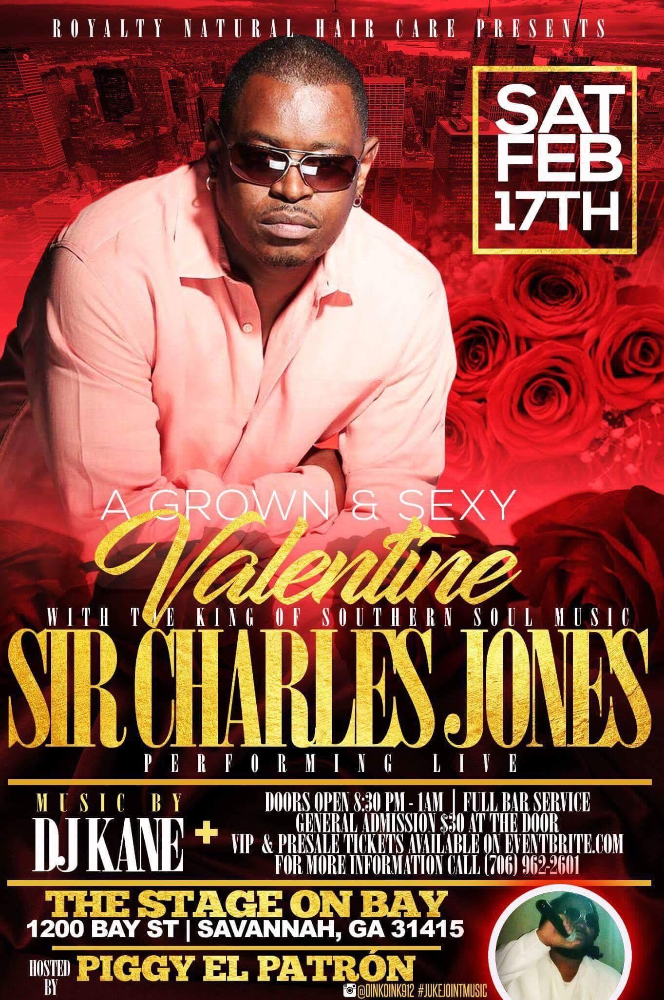A Grown & Sexy Valentine  Performing Live: Si