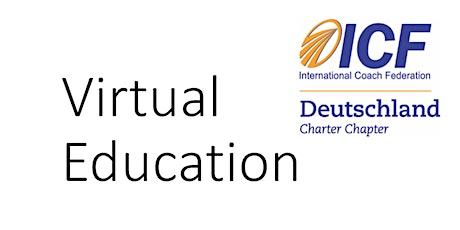 Anmeldung zum E-Mail Einladungsverteiler ICF Virtual Education