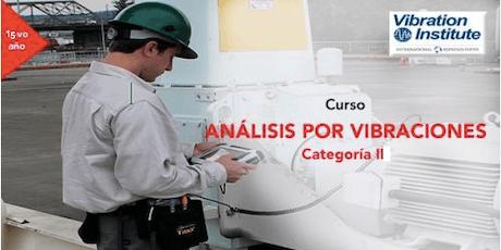 """Curso Vibraciones Categoria II-""""Certificación Instituto de Vibraciones""""  tickets"""