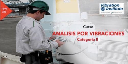 """Curso Vibraciones Categoria II-""""Certificación Instituto de Vibraciones"""""""