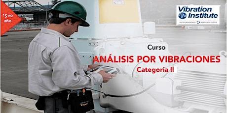 "Curso Vibraciones Categoria II  -  ""Certificacion Instituto de Vibraciones"" Panama boletos"