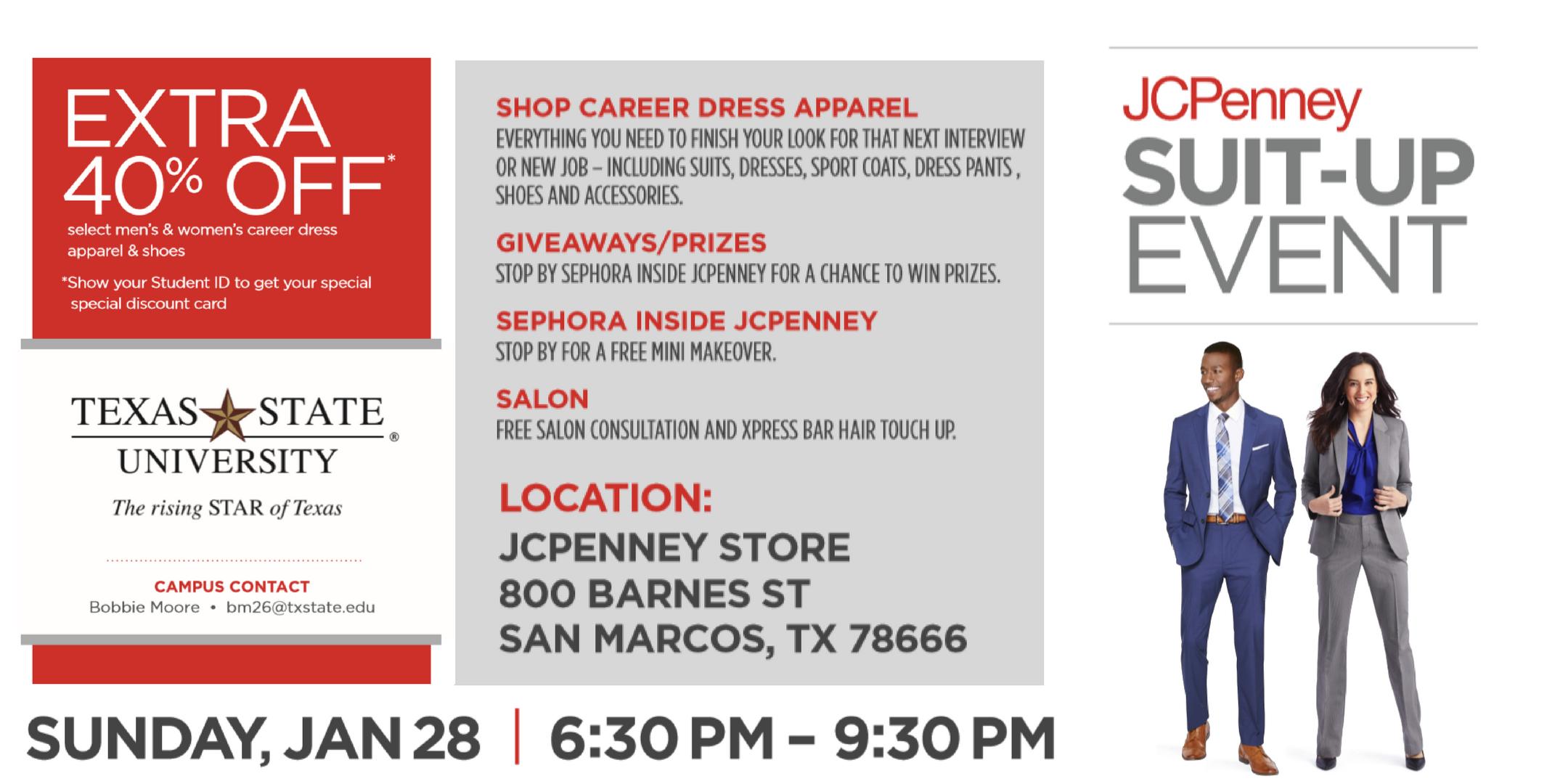 Jcpenney Suit Up Event 28 Jan 2018