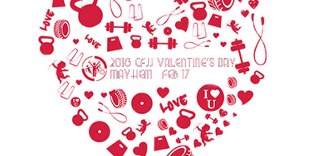 2018 CFJJ Valentine\'s Day Mayhem Tickets, Sat, Feb 17, 2018 at 9 ...