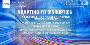 Adapting to Disruption (formerly Beyond Change), 2018