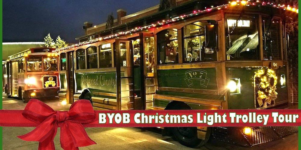 byob christmas light trolley tour 2018 tickets multiple dates eventbrite - Christmas Light Tour