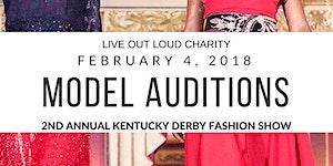 Kentucky Model Audition 2nd Annual Kentucky Derby...