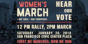 Women's March 2018 - San Francisco #HearOurVote
