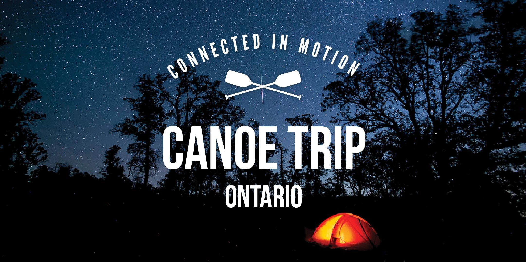MOVED: Adventures: 5.5er Canoe Trip - Ontario