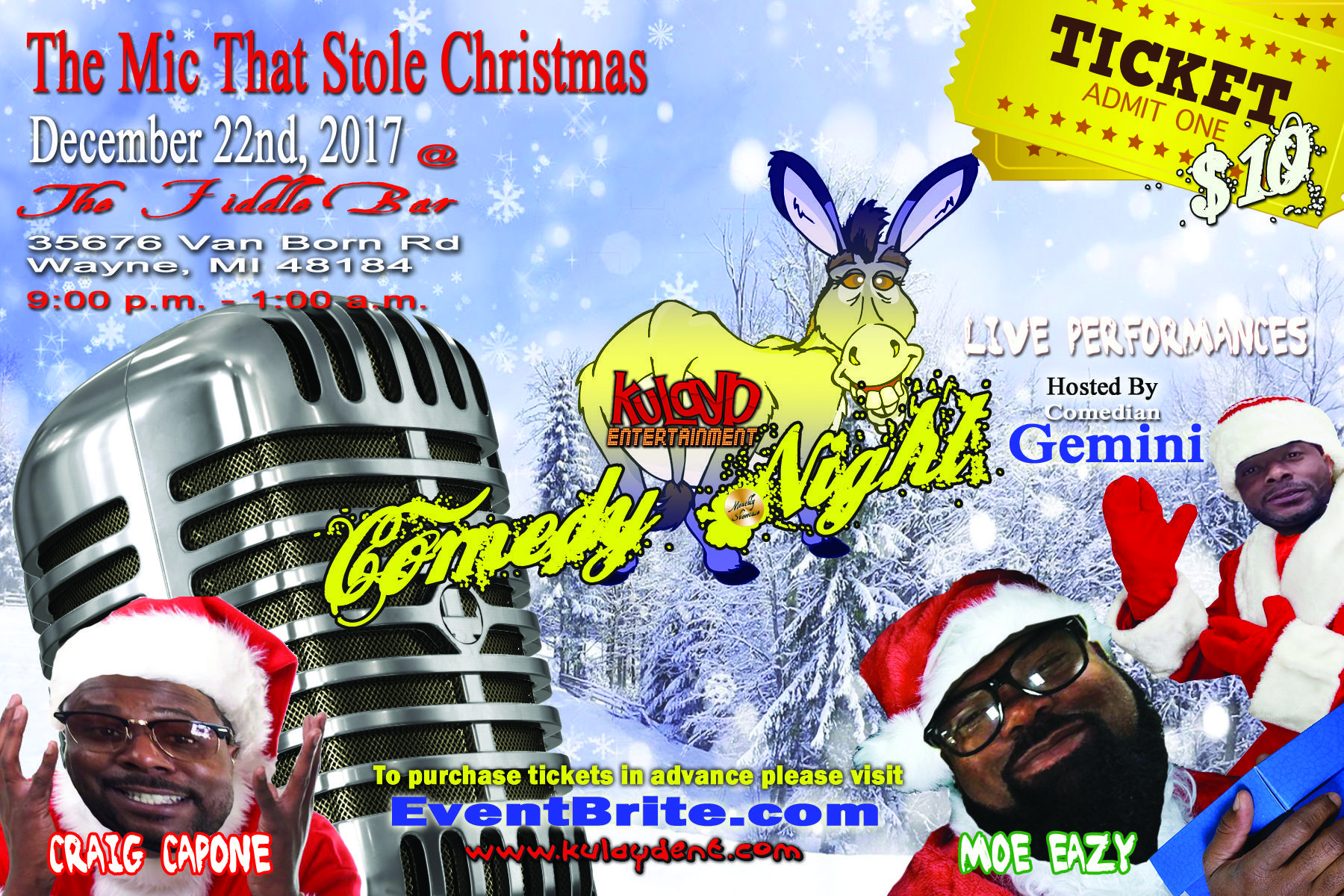 Kulayd Entertainment Comedy Night - The Mic T