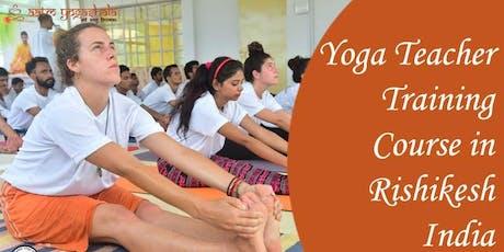 Internationally Certified 200 hour Yoga Teacher Training in Rishikesh India tickets
