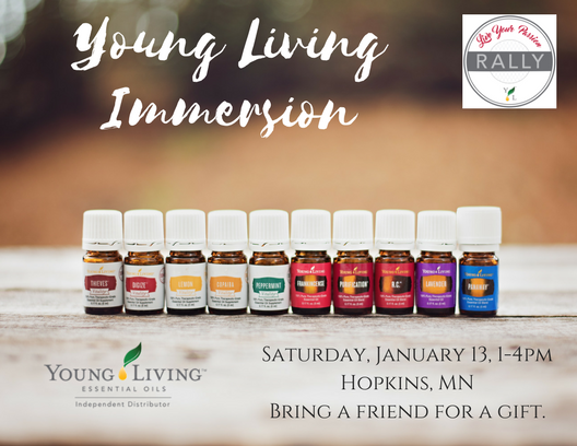 Young Living Rally: Immerse Yourself!