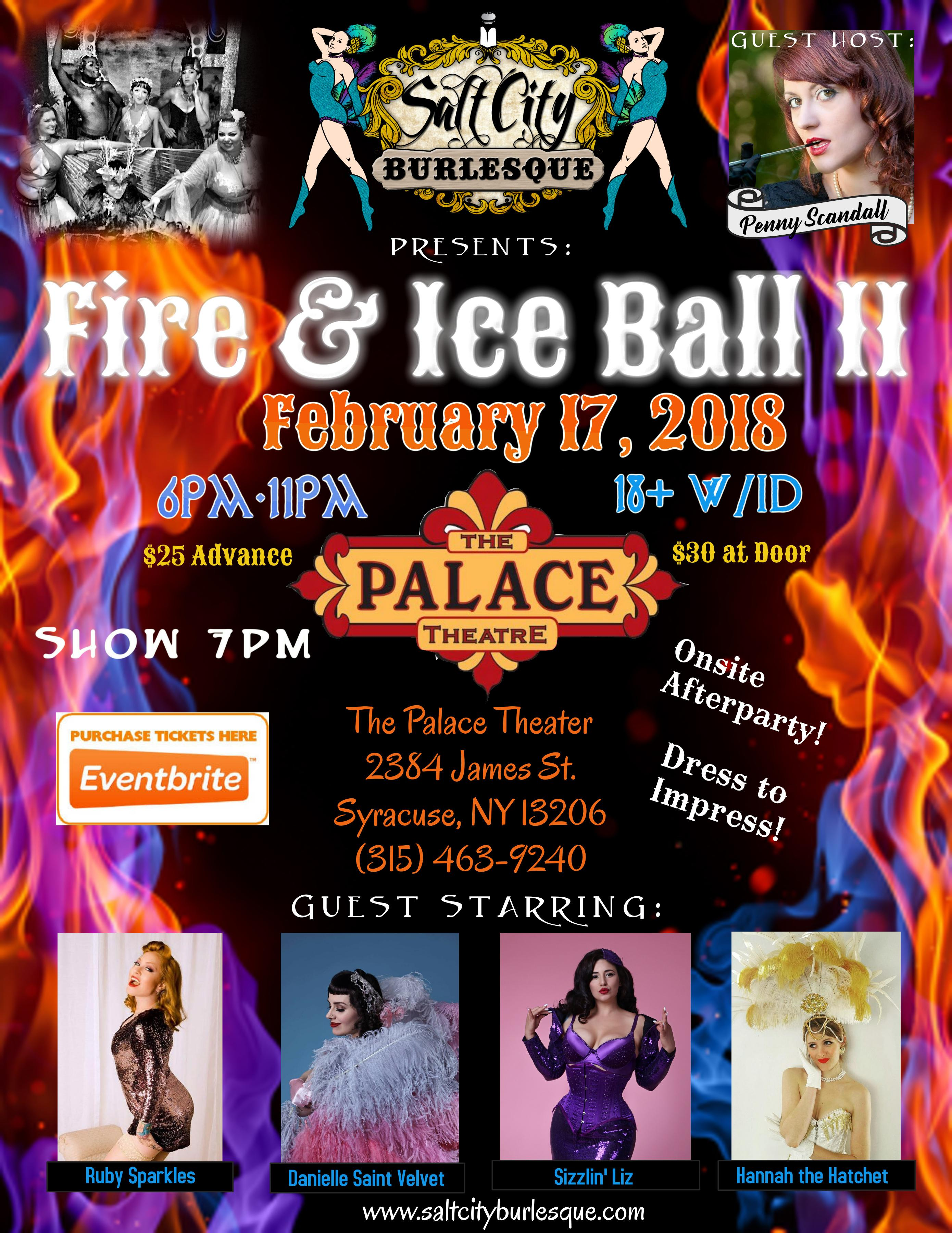Salt City Burlesque Presents: Fire & Ice Ball