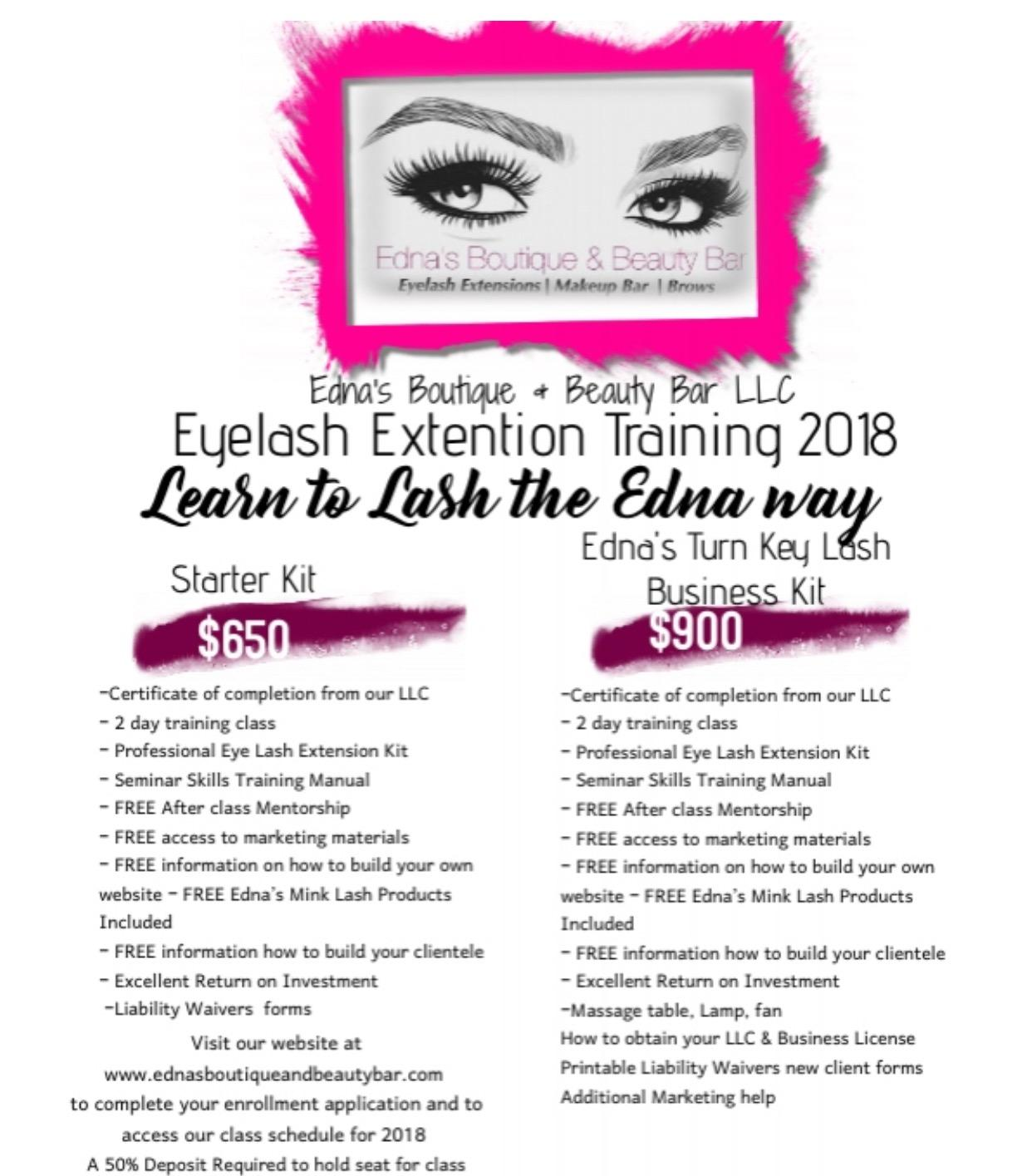 Become a Certified Eye Lash Extension Tech in our 2 Day Class Feb 26 ...