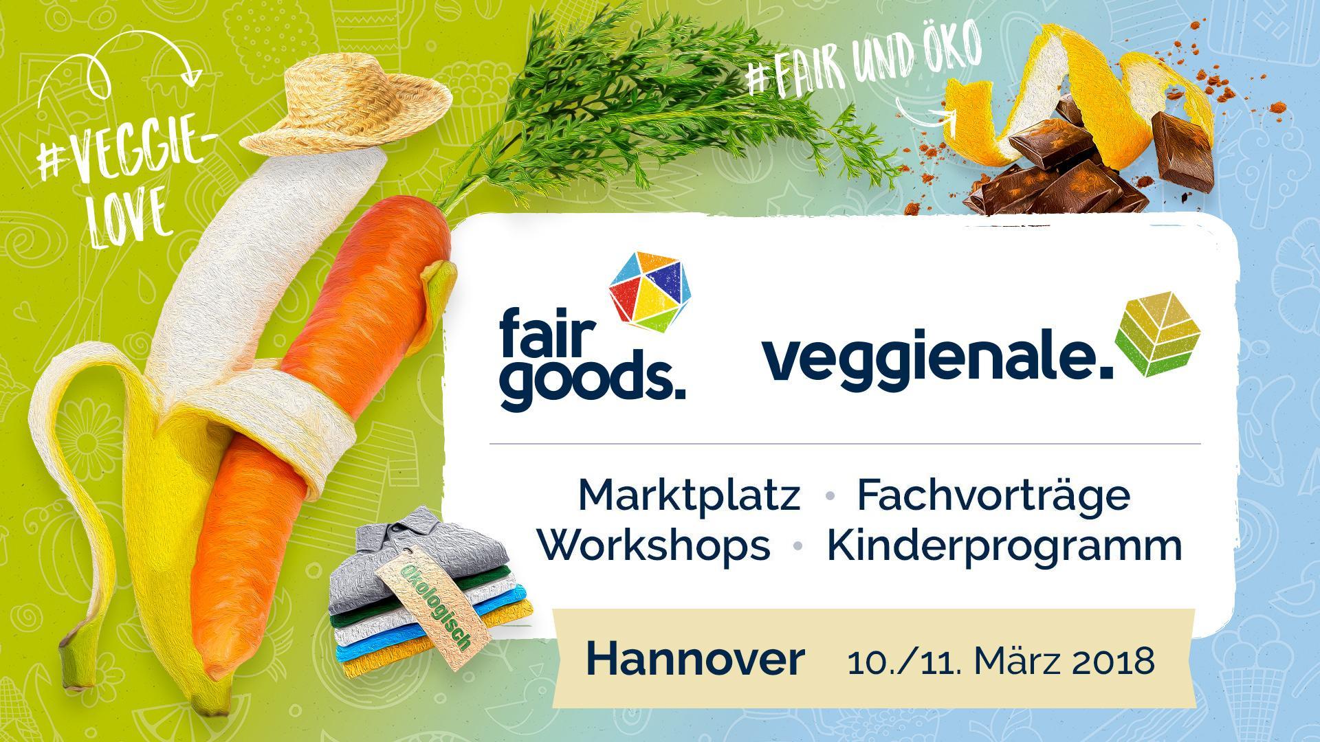 Veggienale & FairGoods + Grünes Geld
