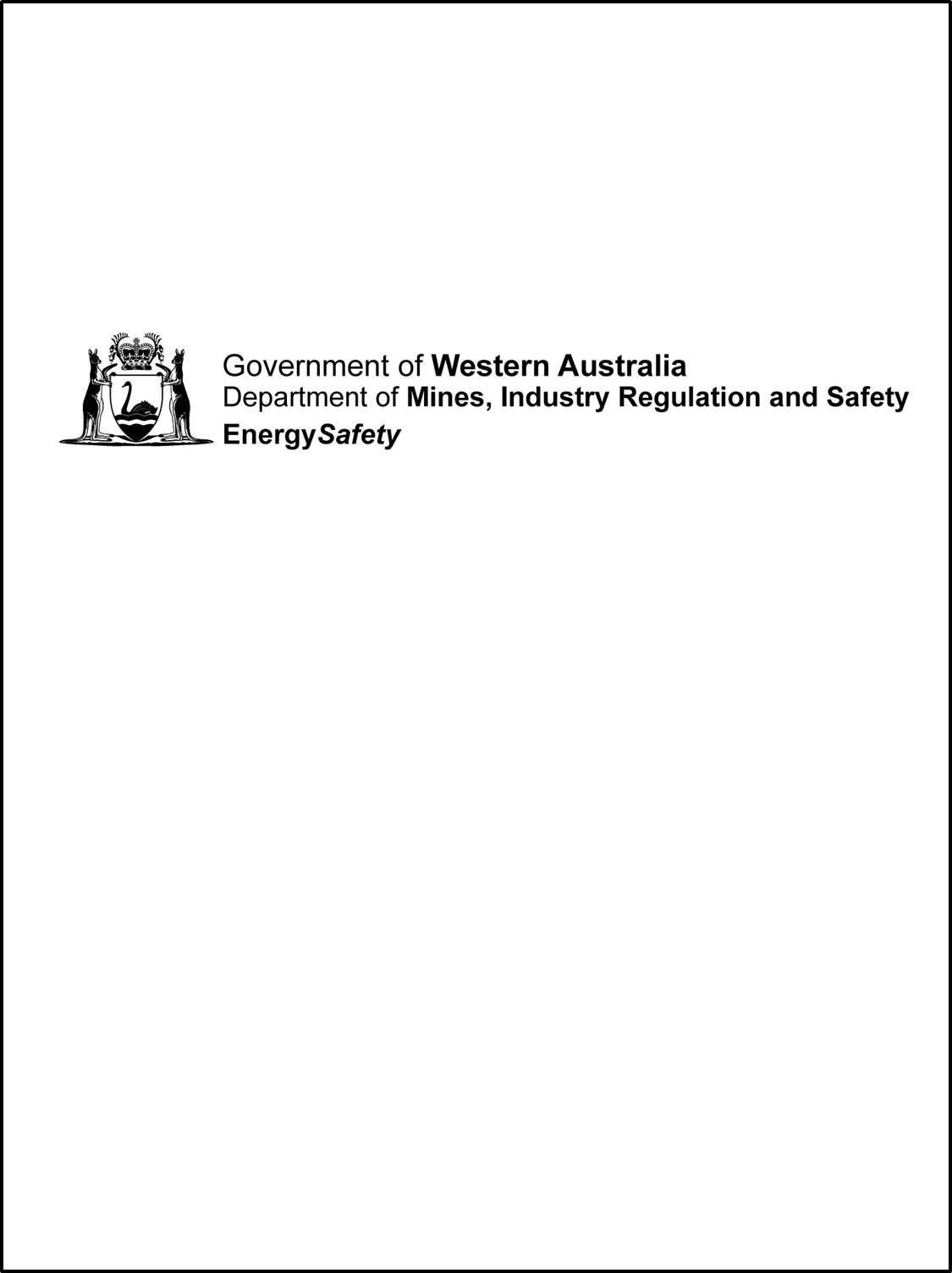 Energysafety Industry Briefing 2018 Bunbury 12 Apr Australian Wiring Regulations