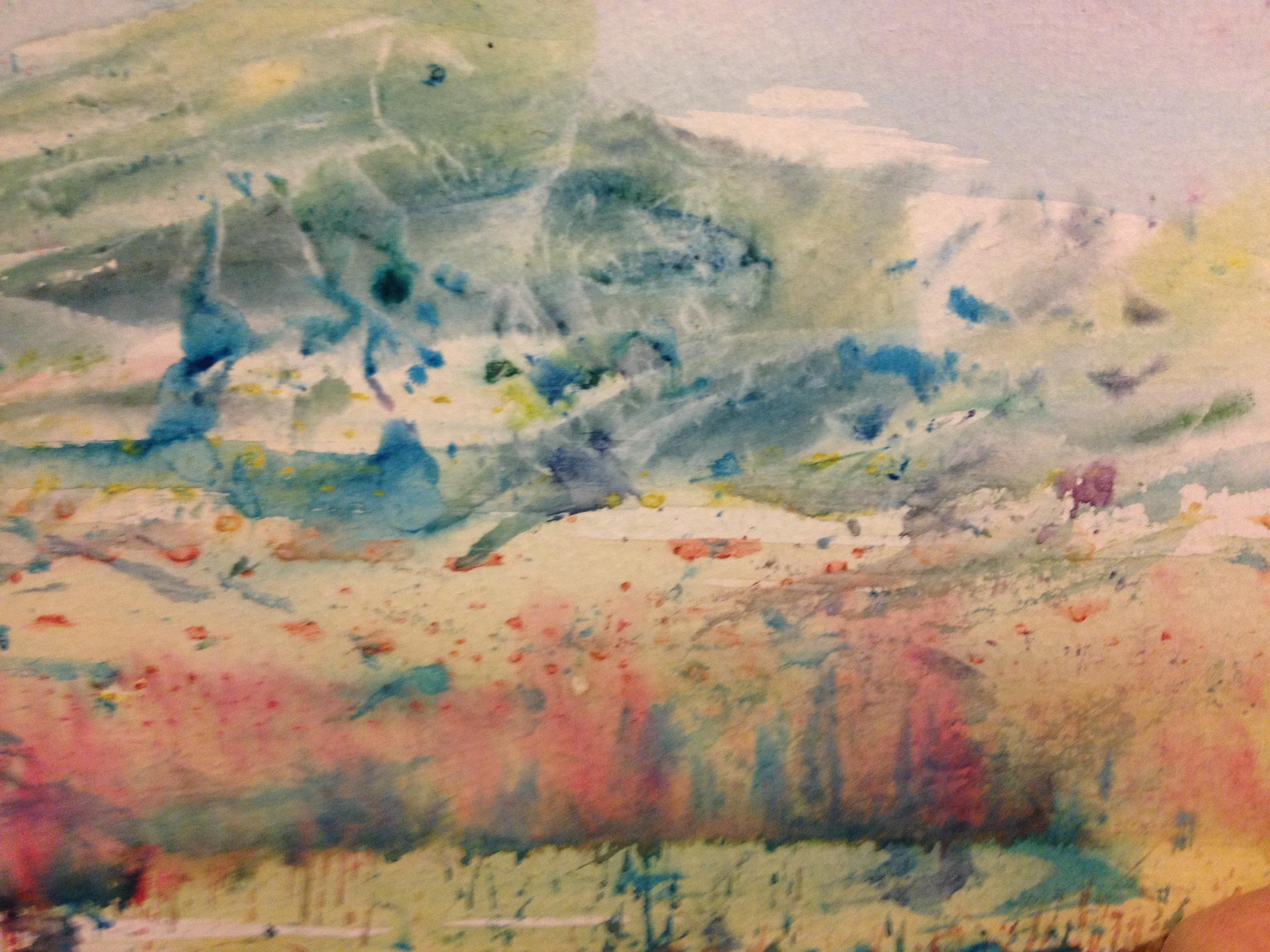 Expressive Landscapes with Watercolour Paints