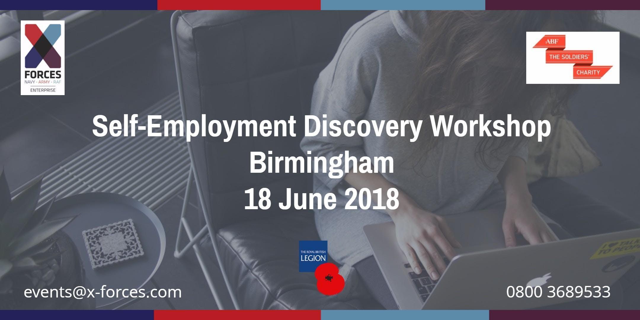 Self Employment Discovery: Birmingham