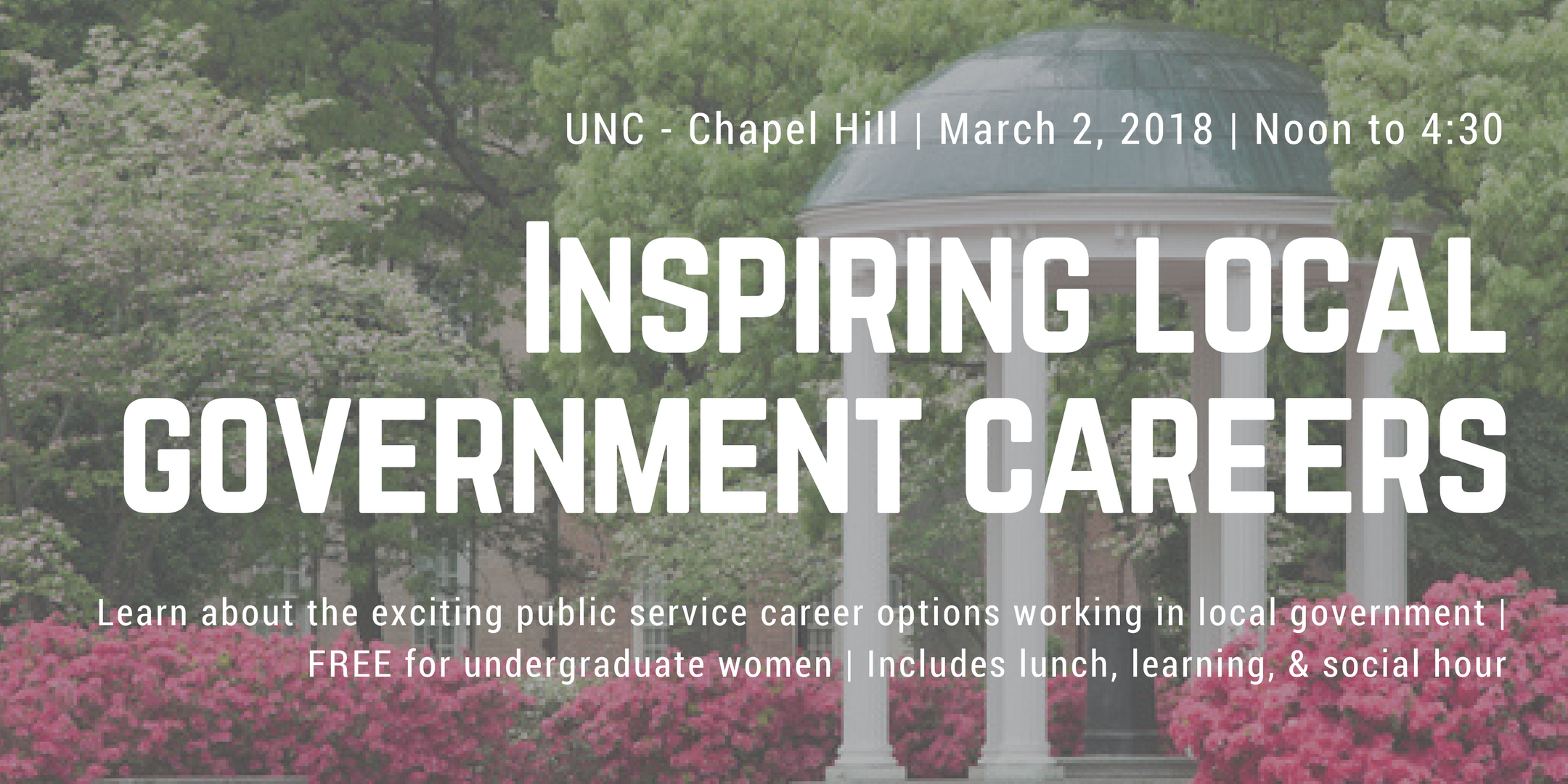 ELGL On Campus: Inspiring Women to Local Government Careers