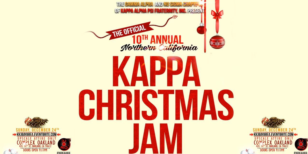 The Official 10th Annual Northern California Kappa Christmas Jam