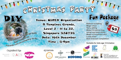 16th Dec- Christmas Party @ Tampines