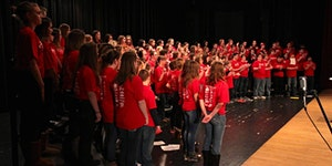 2018 Youth In Harmony Festival  Western WI / Super Sing