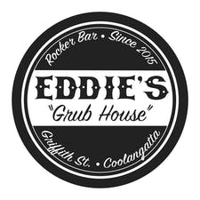 EDDIES GRUB HOUSE logo