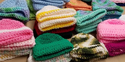 Quiet Waters Park Charity Knitting