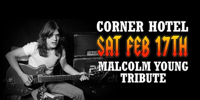 MALCOLM YOUNG TRIBUTE (The Dementia Foundation Fundraiser)