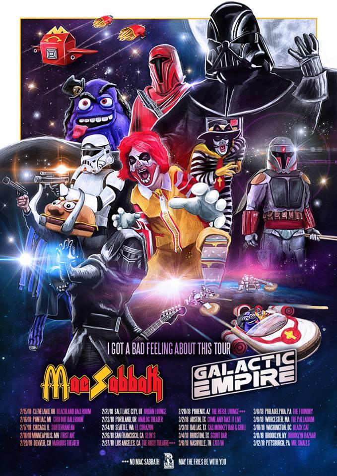 Mac Sabbath / Galactic Empire @ Slim's