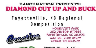 Diamond Cut Up And Buck Fayetteville, NC Regional Dance Competition