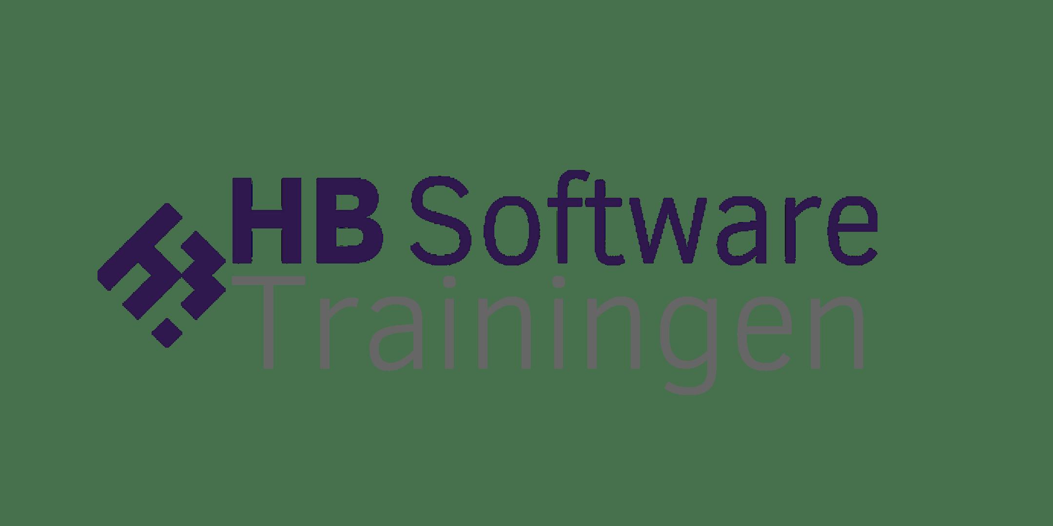 HB Software trainingen 2018