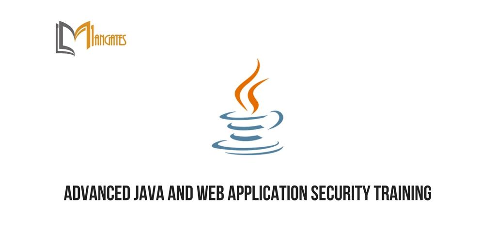 Advanced Java and Web Application Security Tr