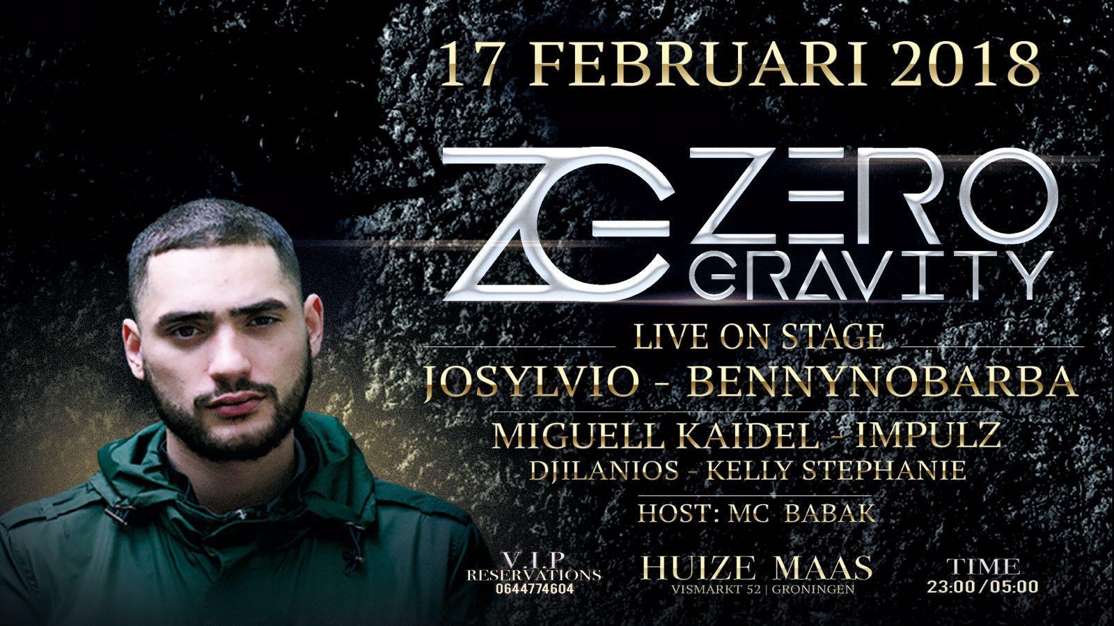 Zero Gravity Events, present: Josylvio