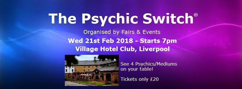 Psychic Switch - Liverpool