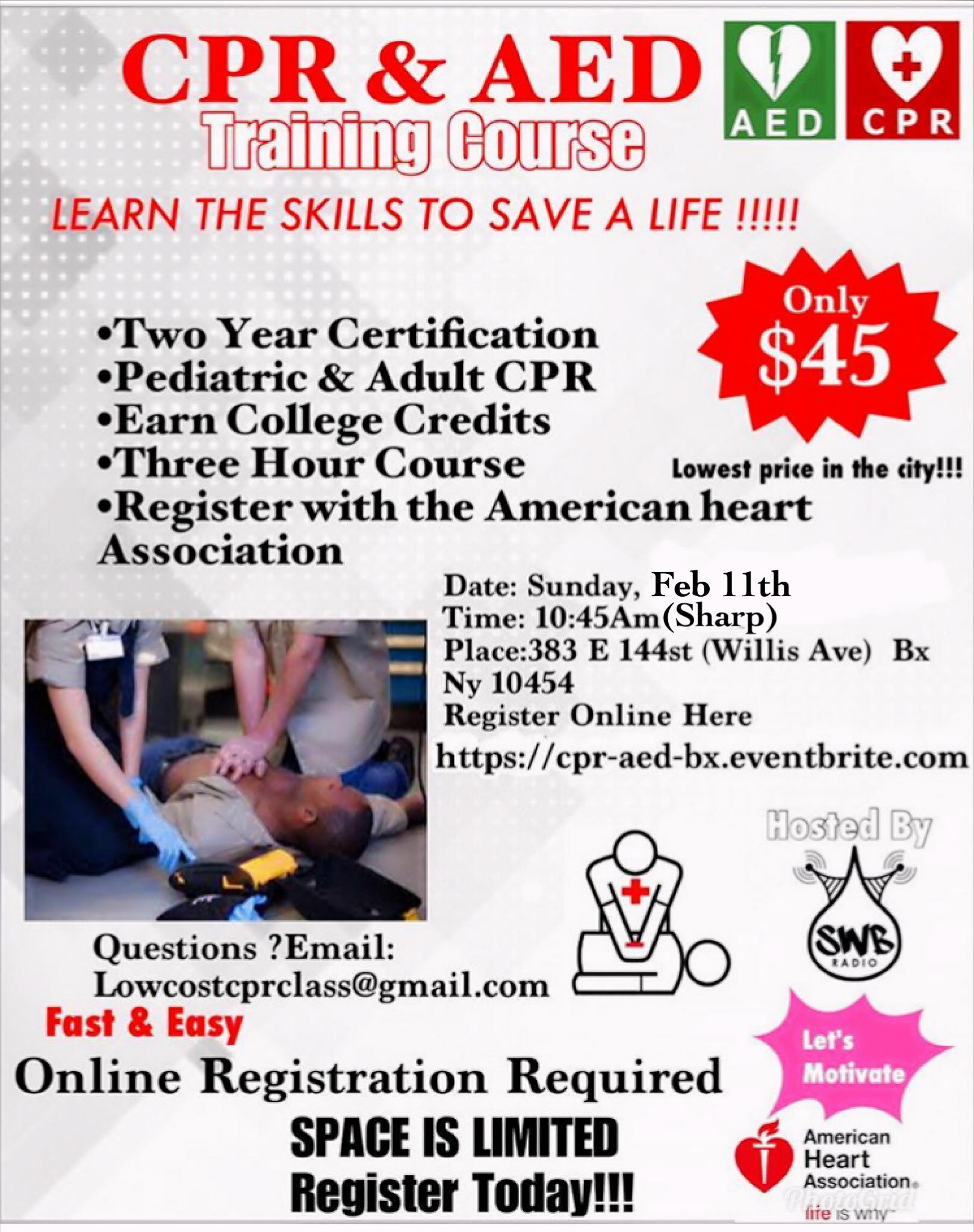 Cpr aed certification course 11 feb 2018 cpr aed certification course xflitez Images